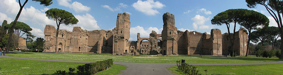 900px-Thermae_of_Caracalla_Panorama